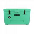 Lerpin camping plastic cooler box custom