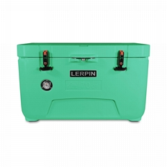 Lerpin camping plastic cooler box custom rotomolded coolers