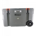 2020 New style 70QT Trolley Wheeled ice cooler box rotomolded cooler box 3