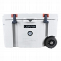 2020 New style 70QT Trolley Wheeled ice cooler box rotomolded cooler box 4
