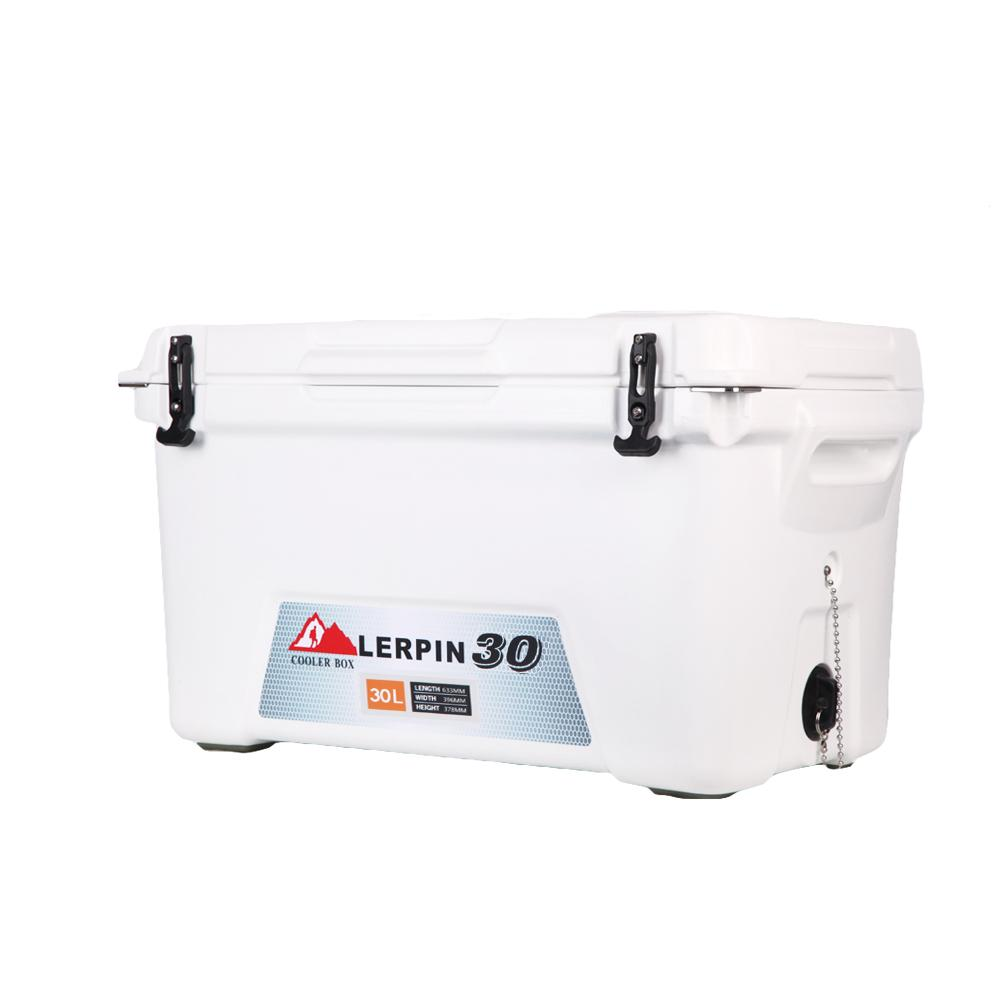 Lerpin food grade plastic LDPE moulded-in heavy duty handle cooler 1