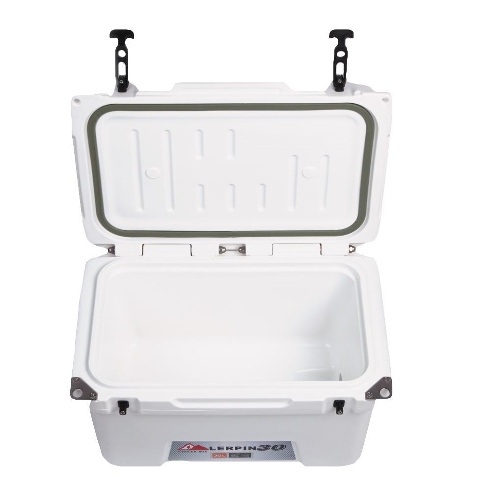 Lerpin food grade plastic LDPE moulded-in heavy duty handle cooler 5