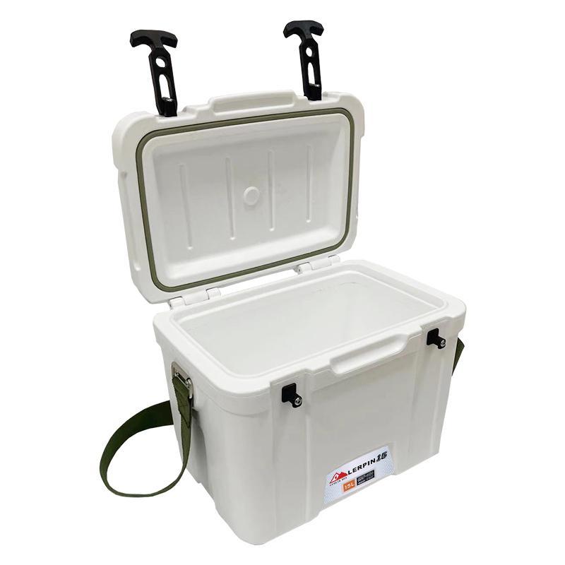 Mini medical Ice box cooler rotomolded shoulder cooling box portable 3