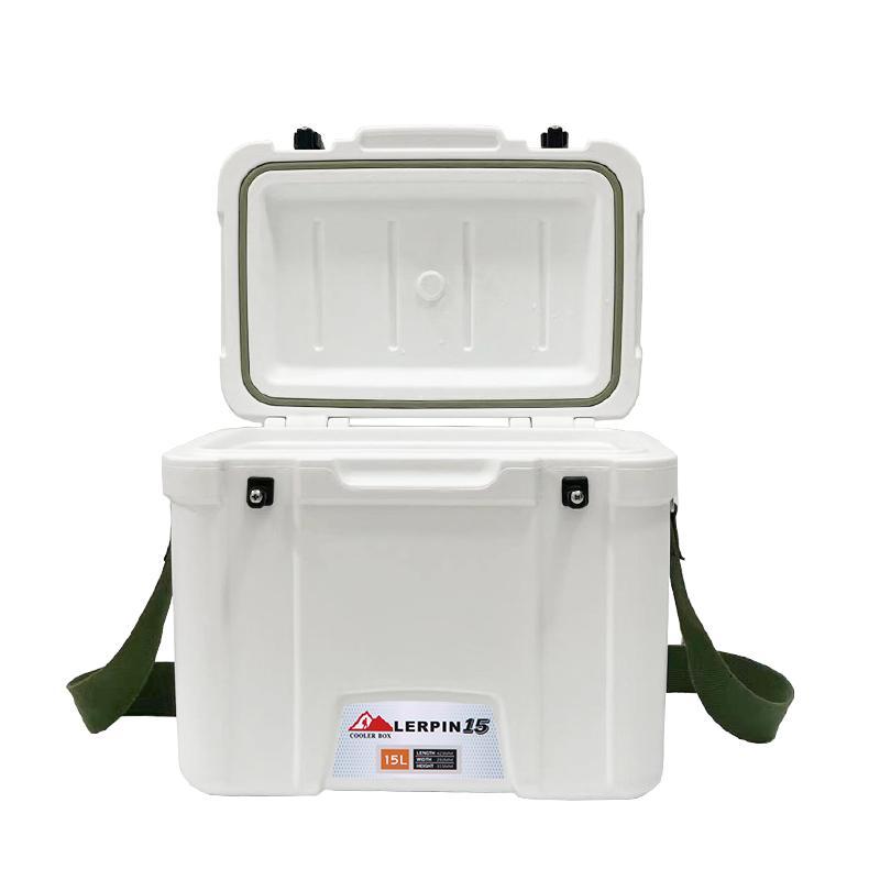 Mini medical Ice box cooler rotomolded shoulder cooling box portable 2
