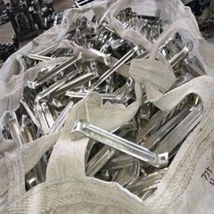 Cavey u-shaped steel splice fittings