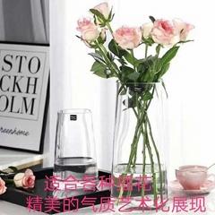 modern flower glass vase
