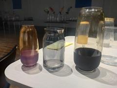 Home decoration glass vase