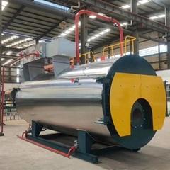 2 Ton/H 2000kg Horizontal Oil or Gas Fired Steam Boiler for hospital