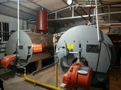 Central Heating Natural Gas Diesel Light Oil Industrial Steam Boiler Prices