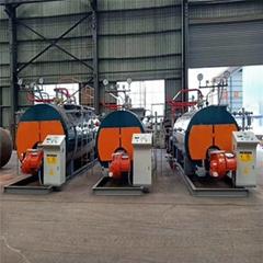 1-10 Ton Per Hour Industrial Oil Gas Fired Steam Boiler for Steam Sterilizer