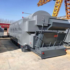 4 ton 4000kg Wood Pellet Rice Husk Steam Boiler for rice mill plant