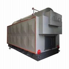 3ton Moving Grate Biomass Pellet Wood Fired Steam Boiler For Greenhouse
