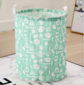 canvas fabric cloth storage basket toys basket for kids storage  3