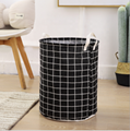 canvas fabric cloth storage basket toys basket for kids storage  4