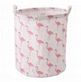 canvas fabric cloth storage basket toys basket for kids storage  5