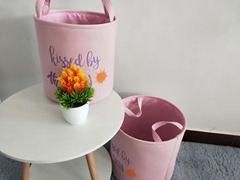 家用收納筐卡通儿童玩具雜物客廳布藝折疊臟衣籃臟衣服收納簍