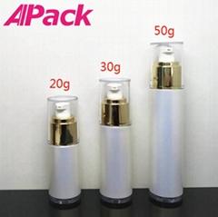 20/30/50ml塑料化妆真空瓶乳液瓶