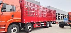 锣响仓栅式载货车 物流运输车 9米6载货车