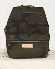 Louis Vuitton x Supreme M44200 Camouflage Apollo Backpack Camo bag 100414 luxury