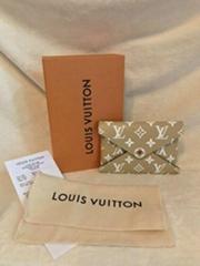 Louis Vuitton Pochette Kirigami Khaki Giant Monogram Pouch Clutch Medium