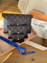Louis Vuitton Pochette Kirigami Bag Clutch Pouch Monogram Canvas M62034 lv bag