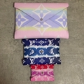 Louis Vuitton Escale Kirigami Pochette Tie Dye Giant Logo Monogram Clutch Bag LV