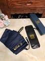 Glvenchy Automatic Windproof UV Protection Compact Folding Sun Rain Umbrella