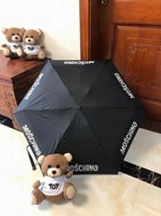 Monogram Umbrella Windproof UV Protection Compact Folding Sun Rain