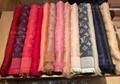 LV Monogram Silk Wool Shine Scarf Shawl Louis Vuitton luxury brand wraps scarves