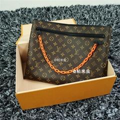 Louis Vuitton X Virgil Abloh Portfolio Wallet Monogram Document Portfolio Pouch