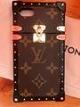 iPhone Eye Trunk Monogram Coated Canvas Phone Case Folio