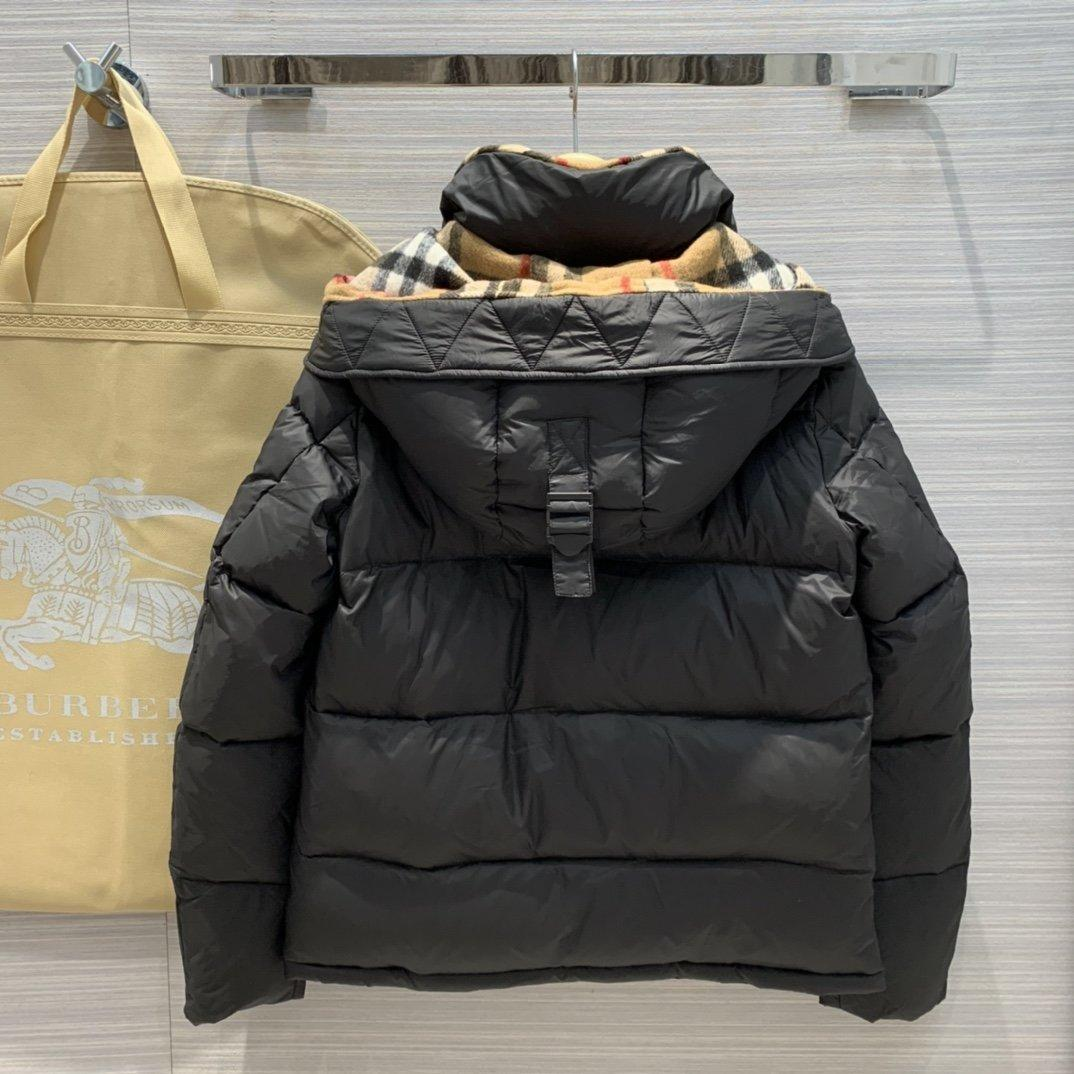 Burberry Men's Hooded Quilted Puffer Jacket