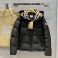 Men's Hooded Quilted Puffer Jacket w/