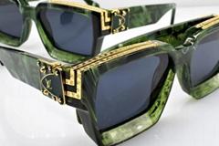 Louis Vuitton 1.1 Millionaires Sunglasses Green Marble LV fashion eyewears
