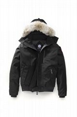MEN'S BORDEN BOMBER JACKET with coyote fur hood men Chilliwack coat