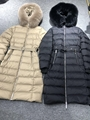 Womens          Belted Down Puffer Coat