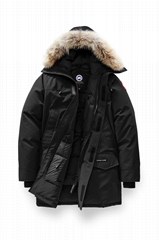 Men's Langford Parka Jacket Black Men winter snow outerwear