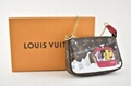 Louis Vuitton 2019 Holiday Mini Pochette Accessoires Vivienne Snow Ski Chain Bag