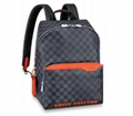 Louis Vuitton DAMIER COBALT RACE DISCOVERY BACKPACK