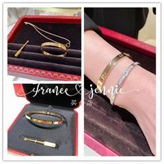 Cartier Love Bracelet 18k Yellow Gold & Diamond Box/Papers N6710619 luxury brand