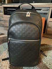 N41330 Michael Damier Infini Onyx Backpack Shoulder bag Men women