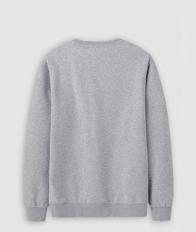 Burberry Logo Print Melange Loopback Cotton Jersey Sweatshirt