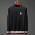 Trimmed Cashmere Sweater Men Black