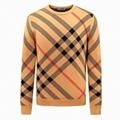 Brit Checked Wool Sweater men design