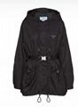 Prada Re-Nylon gabardine blouson jacket