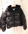 Short puffer jacket women Goose down