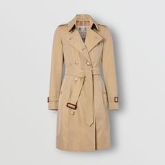 The Mid-length Chelsea Heritage Trench Coat Women cotton rain jacket