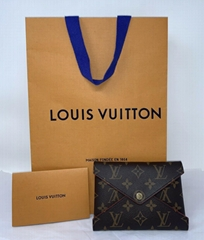 LOUIS VUITTON Monogram Medium Kirigami Pochette Insert Clutch Bag wallet purse