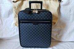 AUTHENTIC Damier Graphite PEGASE 45 Travel Suitcase Cabin handbag