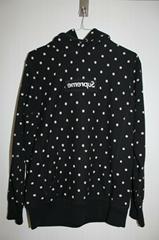 x Comme Des Garcons Polka Dot Red Box Logo Hoodie Sweatshirt pullover